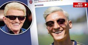 Mesut Özil: Comment Heino! Arsenal-Star est similaire avec une nouvelle couleur de Cheveux du chanteur de charme