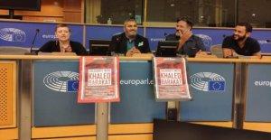 Parlement européen: la Terreur des Traqueurs ont été autorisés à Bruxelles se produire