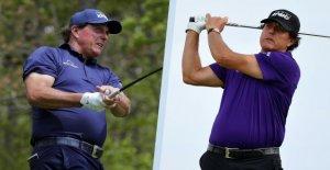Phil Mickelson: Professionnel de Golf a Café de près de 7 Kilos en 10 Jours, diminué