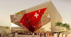 Philip Morris sponsorise Suisse Expo-Pavillon de Commentaire de Vue