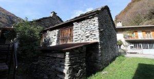 Rustici au Tessin: Beaucoup de Retournement de situation pour un peu d'Argent - Vue
