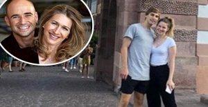 Steffi Graf: Votre Fils montre sa belle petite Amie