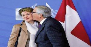 Suisse-UE: simonetta Sommaruga entre les Façades, Vue