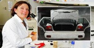 Suzanne Eaton sur l'île de Crète tué: Dans ce Coffre, elle a lutté pour sa Vie