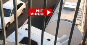 Témoignage Vidéo de Cologne Camion roule sur l'Autoroute vers l'arrière!