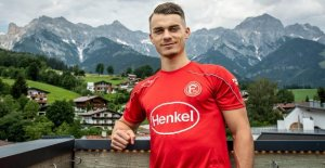 Thommy a augmenté avec le VfB à partir de: Ce qui m'arrive pas une seconde Fois!