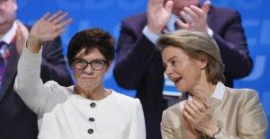 Ursula Von der Leyen est de l'UE, un Patron, AKK, ministre de la Défense: les Réactions