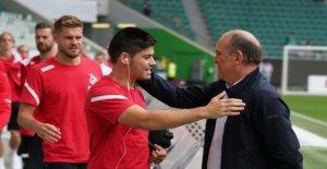 1. FC Cologne, en allemagne, coupe d'ALLEMAGNE, ne détermine pas après les Insultes contre Schmadtke