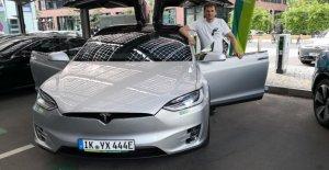 100 Model 3 annulée Allemand de la société de location de voitures prévoit Tesla à partir de