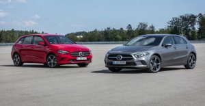 A et de Classe B, Plug-in: Miniverbräuche chez Mercedes-Compact
