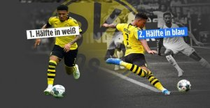 BVB-Star Jadon, Sancho change de Chaussures, dans la Pause de blanc à Schalke-Bleu