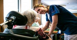 Bettina Beerli (32) entretient et gère des patients atteints de démence - Vue