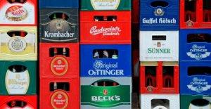 Bierkästen être plus cher: Caisses-Crachat avec les Brasseries