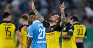 Coupe d'ALLEMAGNE 2. Tour teminiert: DORTMUND et Bayern munich en direct en Free-TV