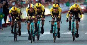 Cyclisme: Piscine provoque des Masses-la Chute de la Vuelta a España