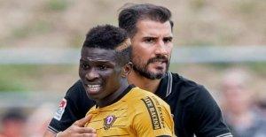 Dynamo Dresden: est Tombé jette Koné à partir de l'ensemble de l'équipe
