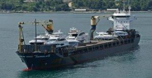 En face de la Côte du Cameroun - Piratenüberfall allemande Navire