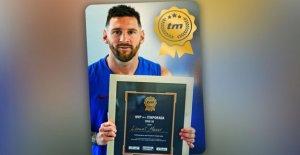 FC Barcelone: Lionel Messi remercie...