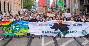 Fridays for FutureDémo: Débarrassés de freins Öffis de