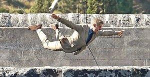 James Bond avec Daniel Craig: Spectaculaire de Tournage meurt ici 007?