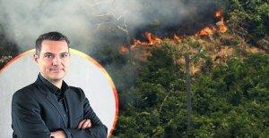 Les incendies de forêt au Brésil Commentaire: La Forêt tropicale qui nous appartient à tous!
