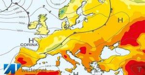 Météo: Jusqu'à 32 Degrés l'Été et le Soleil reviennent grâce à l'anticyclone des açores Corina retour
