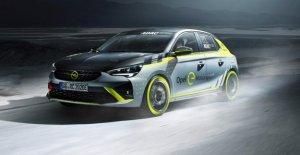Opel Corsa e-Rally: Le premier Électro-Rallyeauto