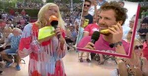 Première Mission, après un Scandale dans le jardin de télévision ZDF: les Fans de célébrer Andrea Kiewel