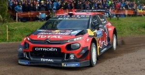 Rallye de France - Relève de la garde dans le Rallye de championnat du monde