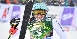 Ski-Star Wendy Holdener affiche votre Mucki-Abdomen - Vue