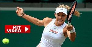 Star du Tennis Angelique Kerber: Numéro 1 est la suite d'un Objectif