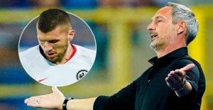 Strasbourg - Eintracht Francfort: Il va sur Rebic los Euro-League-Quali