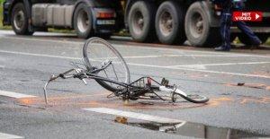 Toujours plus de morts Cyclistes! Mais dans l'ensemble, moins de Décès sur les routes