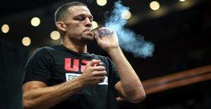UFC: Nate Diaz avec Joint se Produit avant de l'UFC-Retour