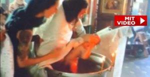 VIDÉO: Enragés Baptême choqué la...