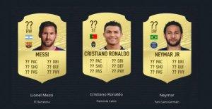 20 de la Fifa,Note: Ce sont les meilleurs joueurs de football dans le Jeu