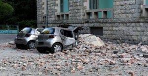 Albanie: le Tremblement de terre de la Série invite à plus de 100 Blessés