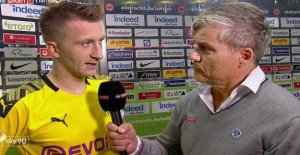 BVB-le Capitaine Marco Reus éclate TV-Interview du Col