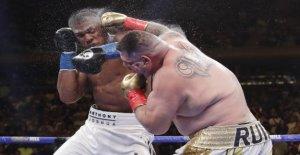 Boxe: Anthony Joshua flottait après...