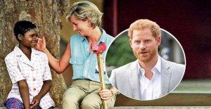 Diana a offert à vous il y a 22 Ans une Prothèse: Harry visité des victimes de mines