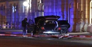 Dresde: Cerveau après Waffenfund de la Gare centrale, accusé d'