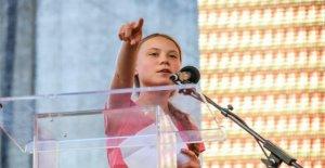 En DIRECT de l'IMAGE, le Greta Thunberg parle sur Jugendklimagipfel