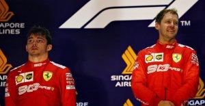 Formule 1: Leclerc ou de Vettel chez...