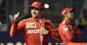 Formule 1 à Singapour: la première...