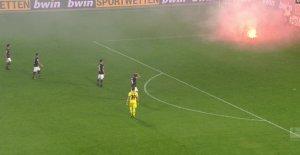 HSV: Pyro-la-Paix, en ruine après plus chaud de temps Additionnel dans le Derby
