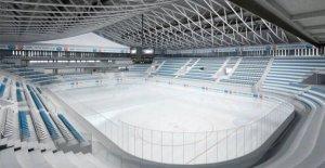 Hockey sur glace: Vaudoise Arena, à Lausanne, est ouvert en Vue