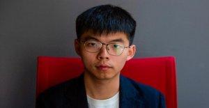 Joshua Wong, dénonce: Hong kong était désormais l'État policier avec violences policières
