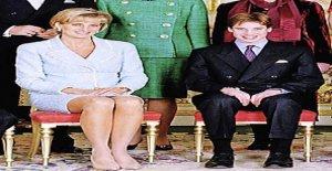 Le prince William a été en raison de la Princesse Diana Seins taquiné - Vue