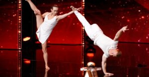 Le super talent - Einbeiniger Danseurs enchante le Jury