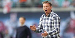 Ligue des Champions: RB Leipzig-Entraîneur Julian Nagelsmann vient matin dans la Chasse Veste